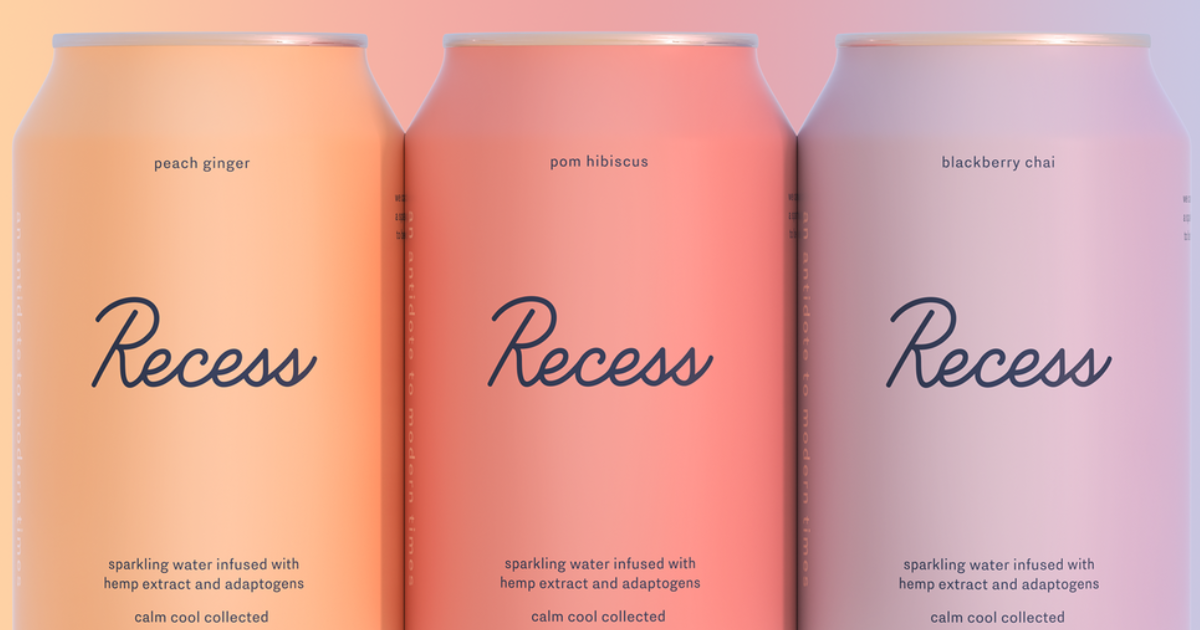 You Can Now Buy Flavored Sparkling Water with CBD