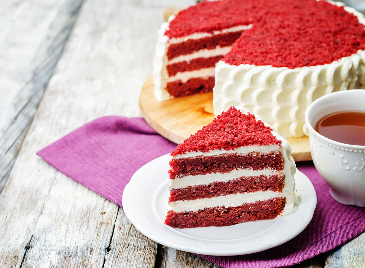 Why Exactly Is Red Velvet Cake Red?