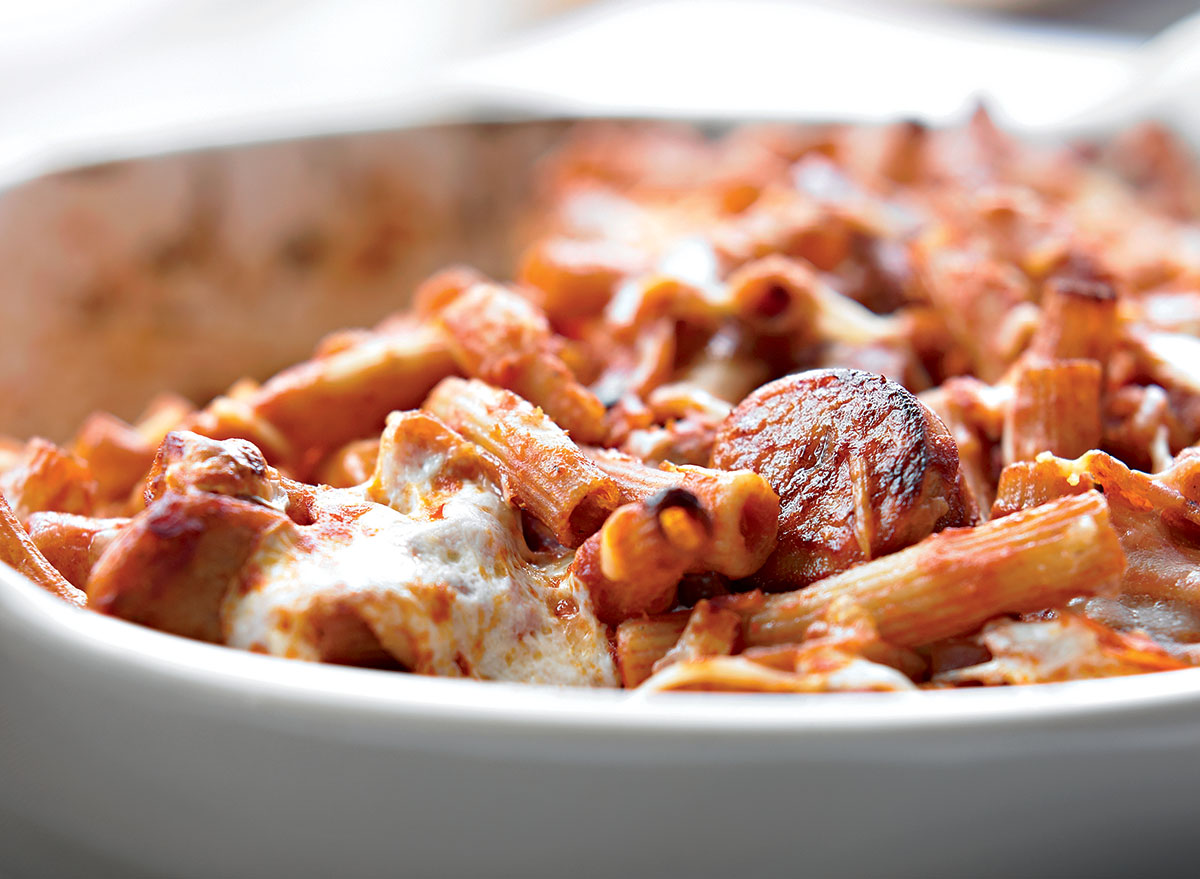 Comfort-Food-Level Baked Ziti Recipe