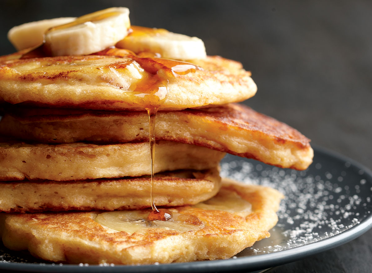 Light and Fluffy Banana Pancakes Recipe