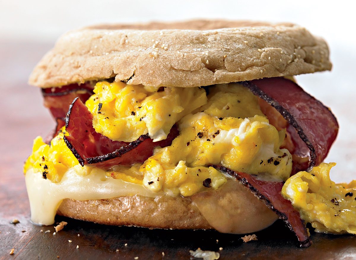 Egg Sandwich With Pastrami and Swiss Recipe