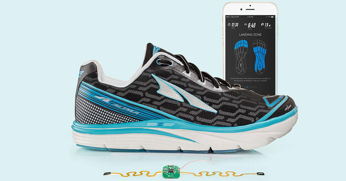 These Next-Gen Sneakers Are a Tracker, Shoe, and Coach All In One