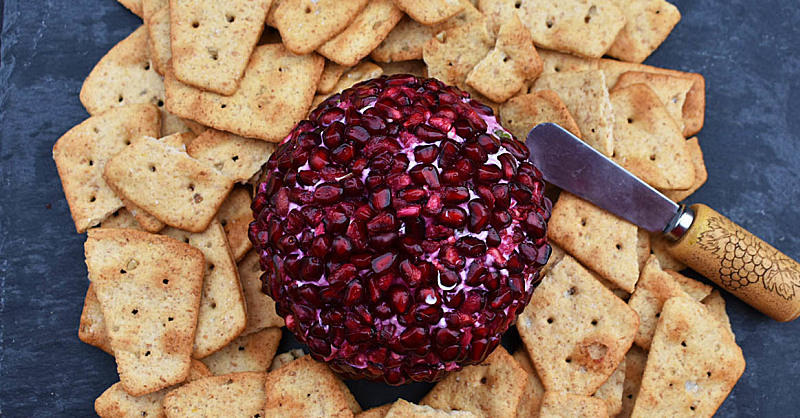 The Pomegranate Bejeweled Cheese Ball You Need to Make This Holiday Season