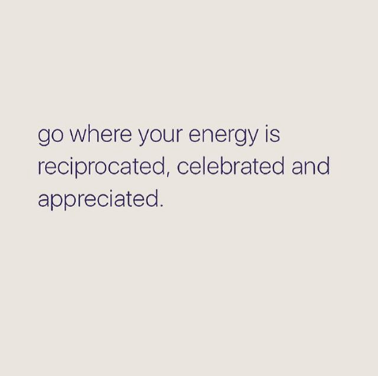 You take on the energy of the people you spend the most time with, so make sure ...