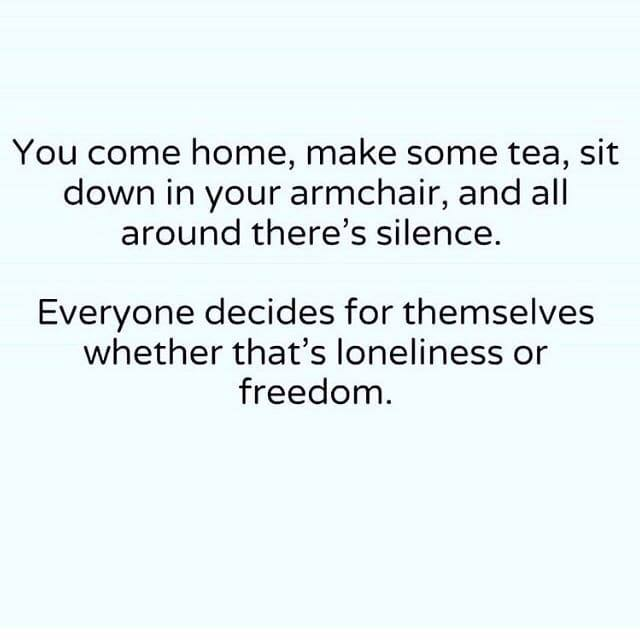 Freedom. What do you think beautiful friends?