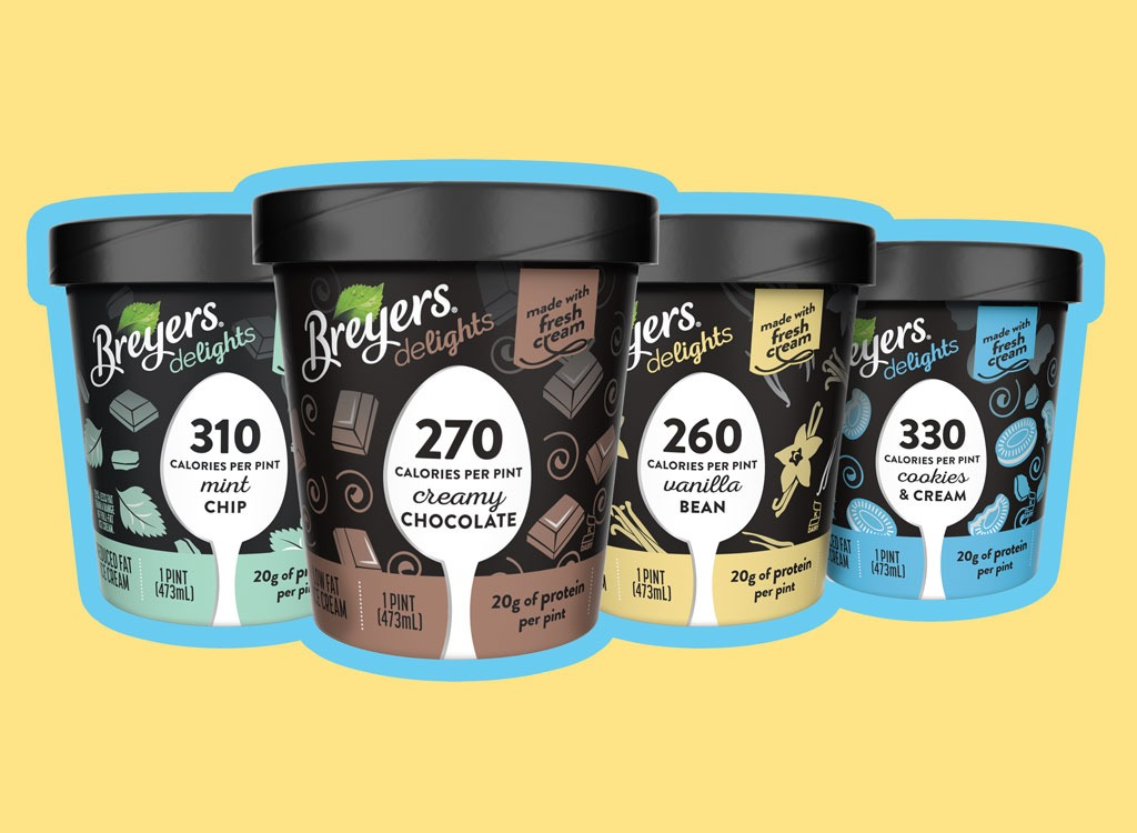 Score A First Look At Breyers' New Low-Cal, High-Protein Ice Cream