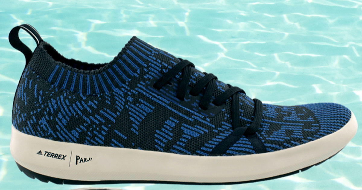 These Adidas Shoes Are Made Almost Entirely From Ocean Garbage