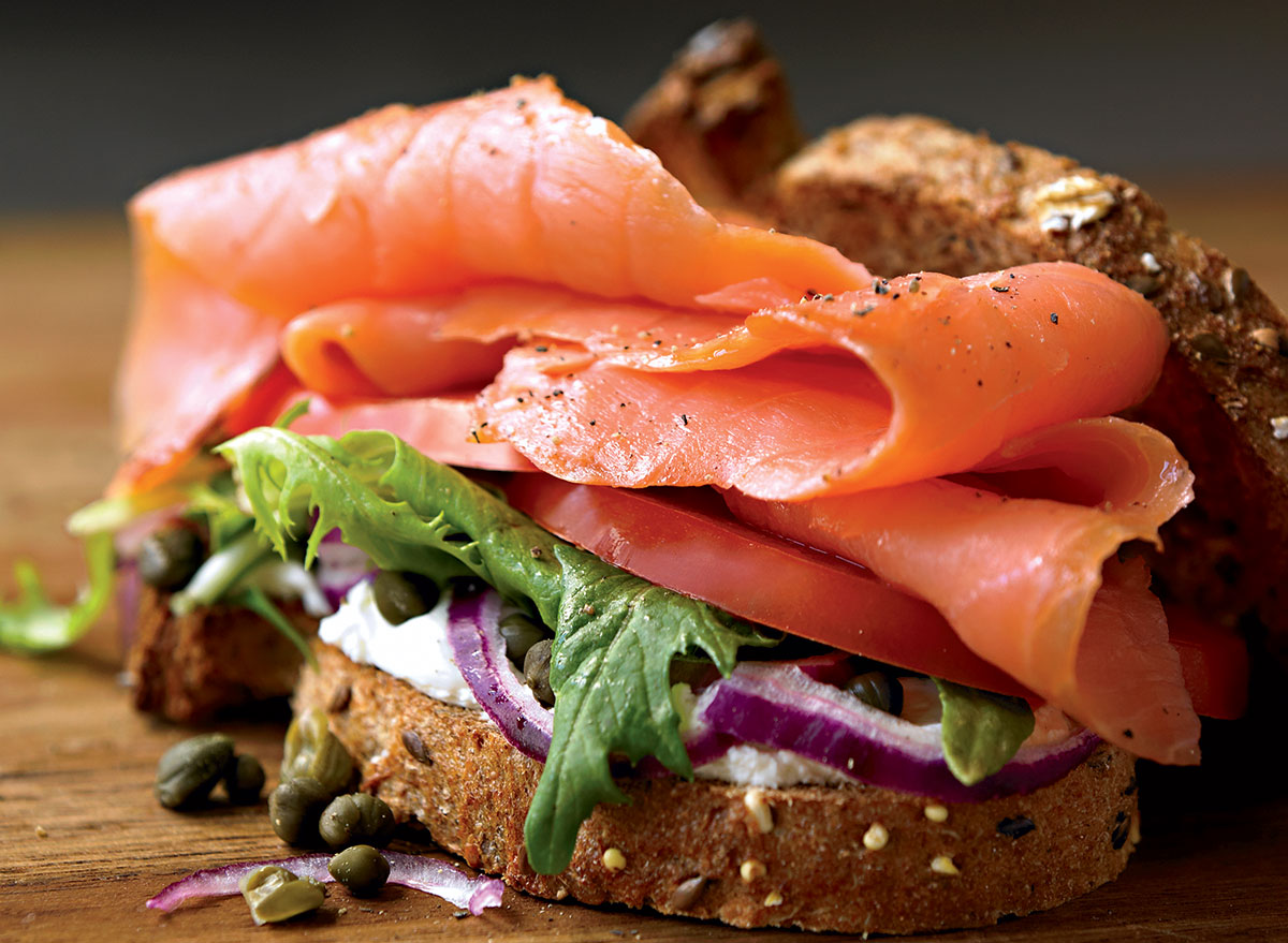 A Smoked Salmon Sandwich Recipe Perfect For Lunch
