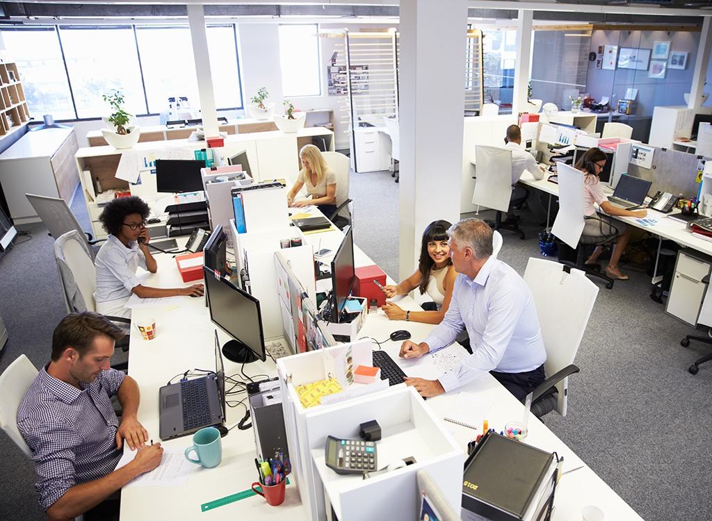 Where to Sit at Work if You Want to Lose Weight