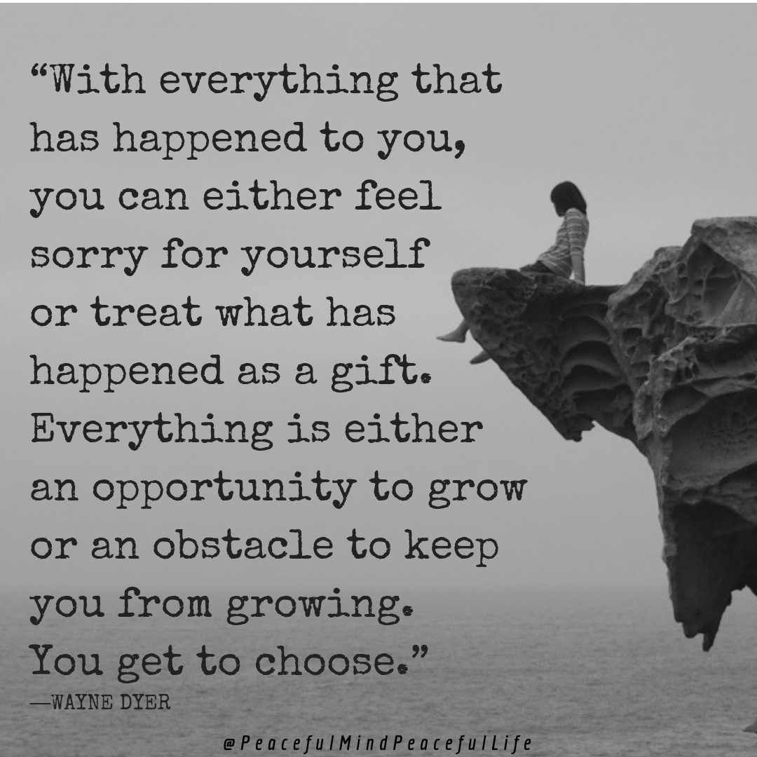 Often it's difficult to see the things that happen to us as a gift when it's cau...