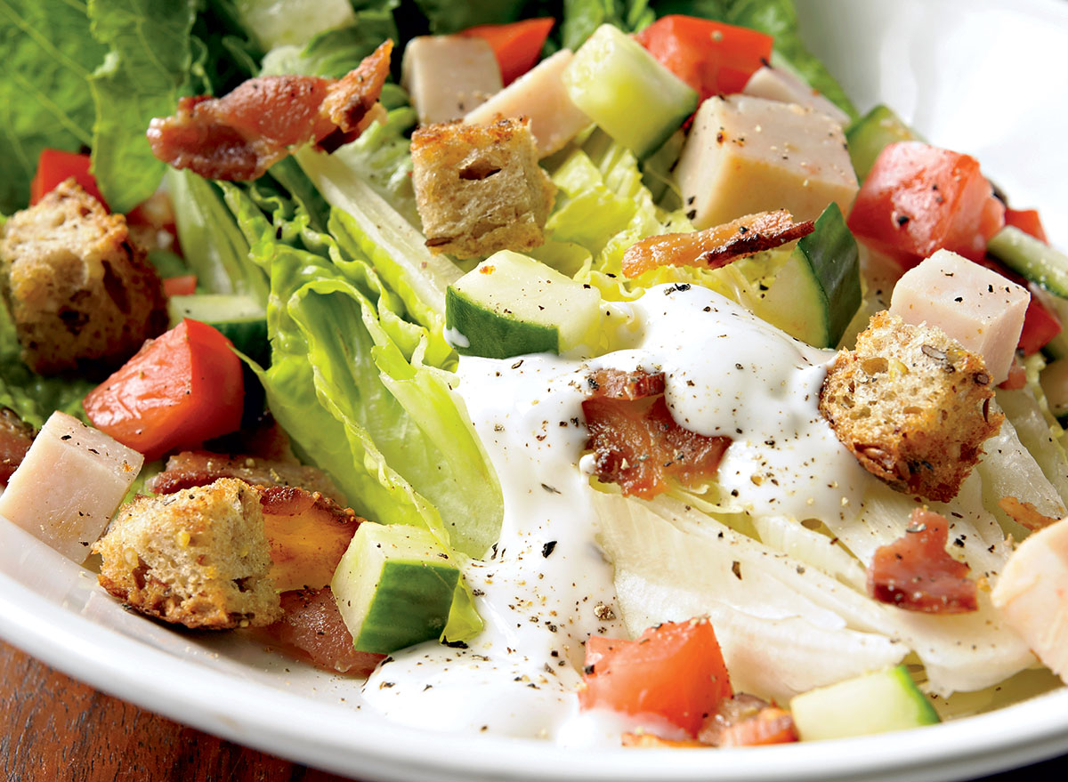 Protein-Packed Turkey BLT Salad Recipe