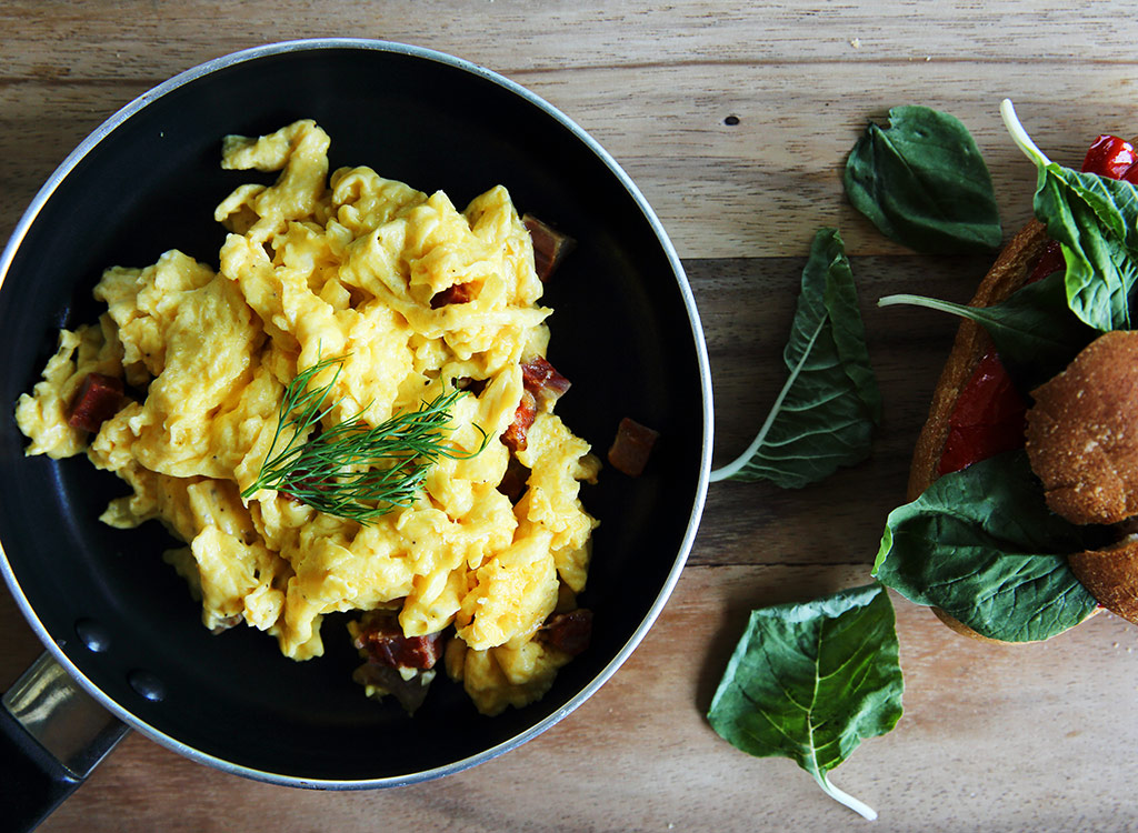The #1 Trick to Make the Best Scrambled Eggs Ever