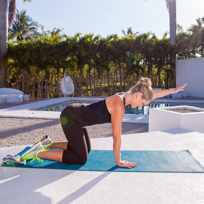 Video: Amazing Abs and Arms Workout