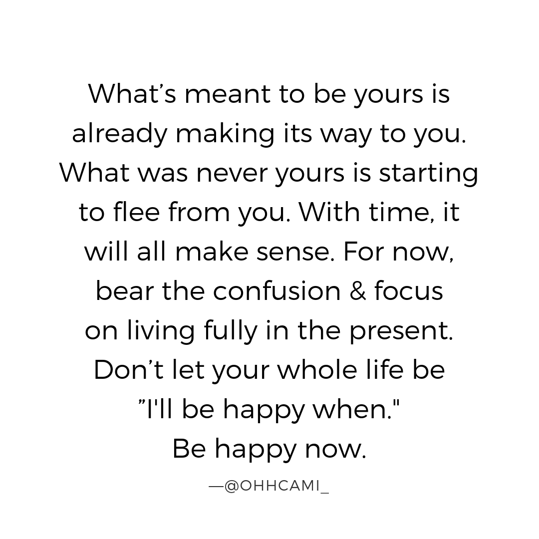 The most important moment of your life is right now. It's the only time where yo...
