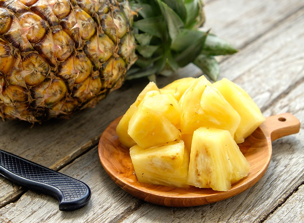 How to Cut a Pineapple Into Perfect Rings and Chunks