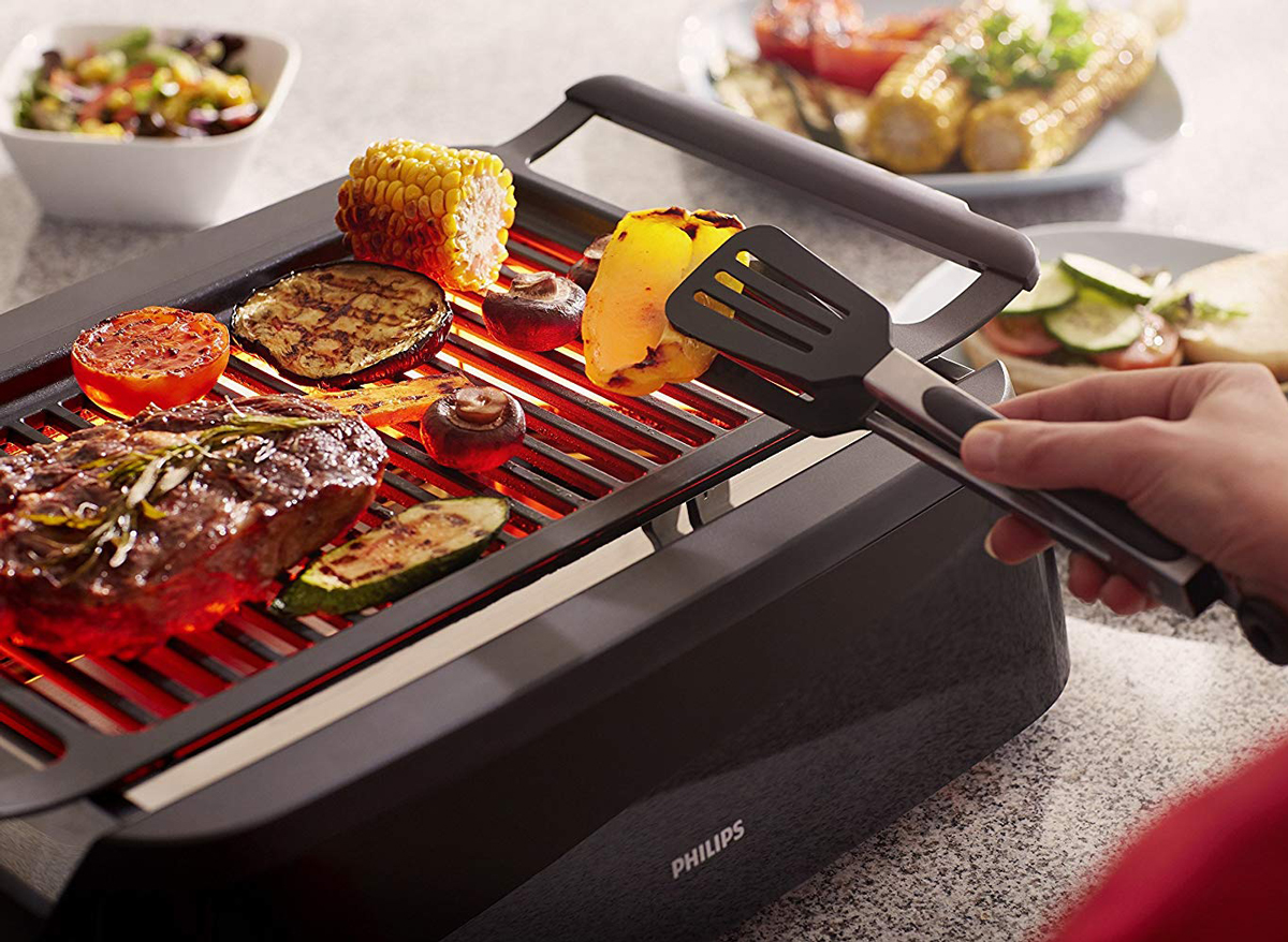 Meet The Indoor Grill That Made Oprah's Favorite Things List This Year