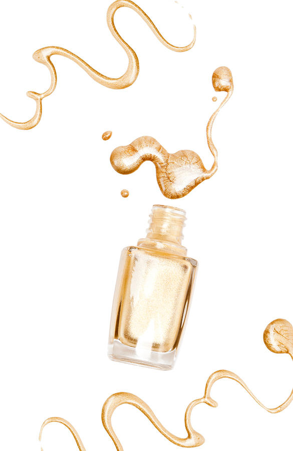 Gold Beauty Hacks That Will Transform Your Holiday Look