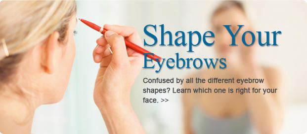 Find the Best Eyebrow Shape for Your Face