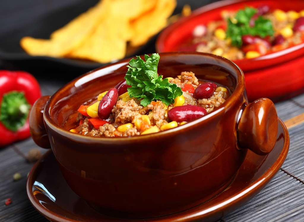 The 20 Best Chili Toppings for Weight Loss