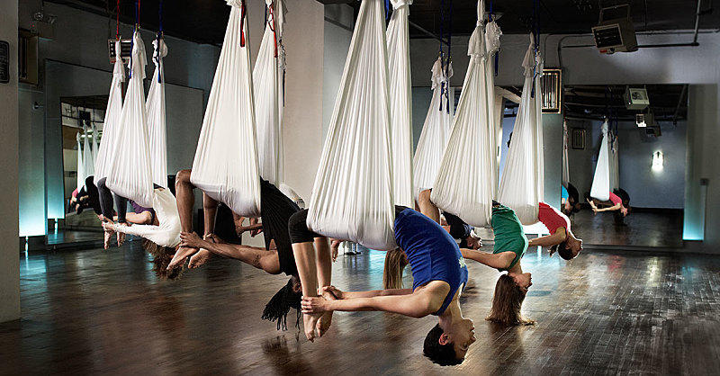 7 Reasons Aerial Yoga Will Take Your Workout to the Next Level