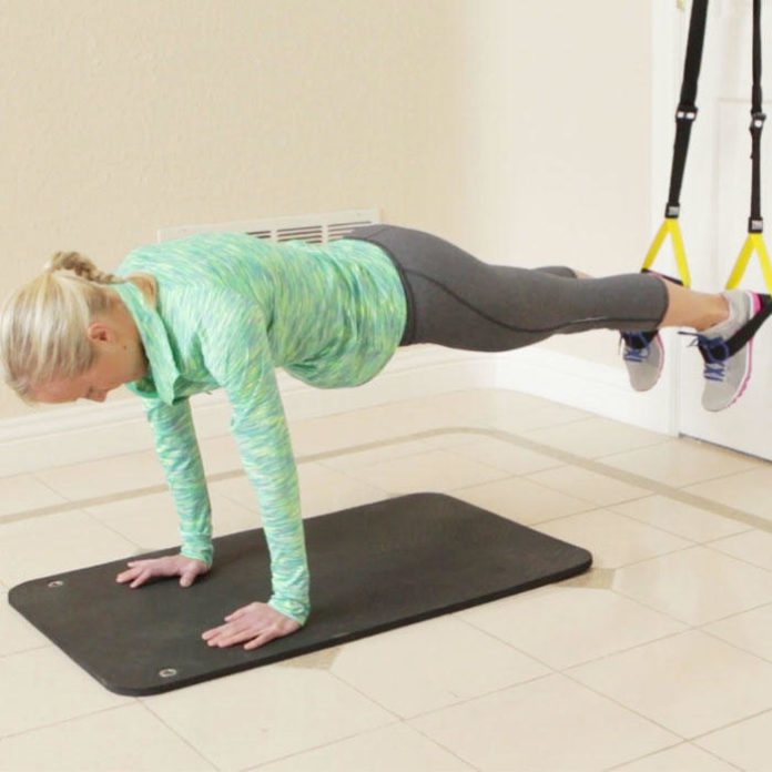At-Home TRX Core Workout