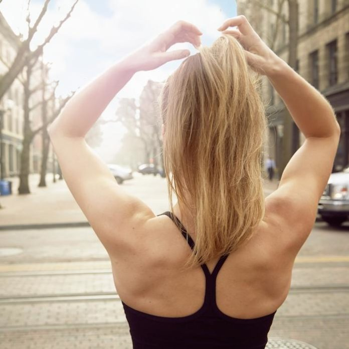How to Do Your Hair After a Sweaty Workout