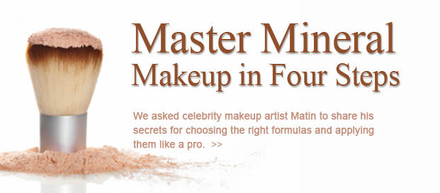 Master Mineral Makeup in Four Steps