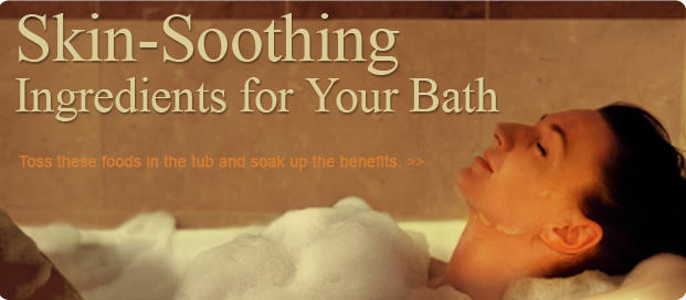 Skin-Soothing Ingredients for Your Bath