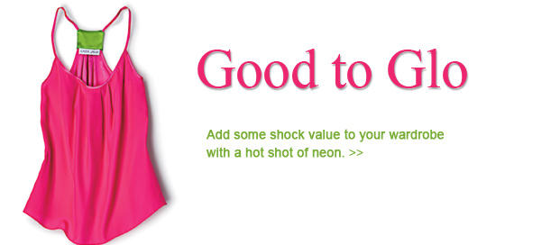 Good to Glo: Add Neon to Your Wardrobe