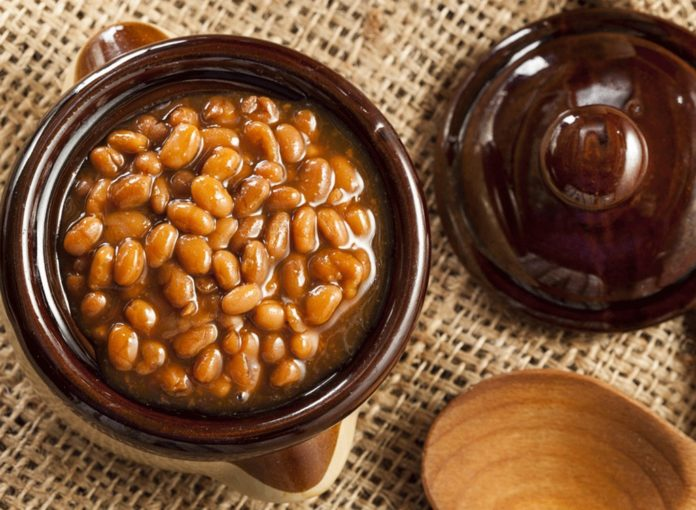A Smoky Baked Beans With Bacon Recipe