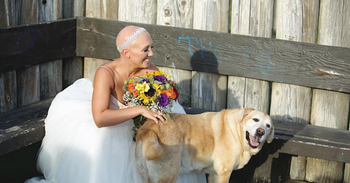 This Bride Embraced Her Alopecia on Her Wedding Day