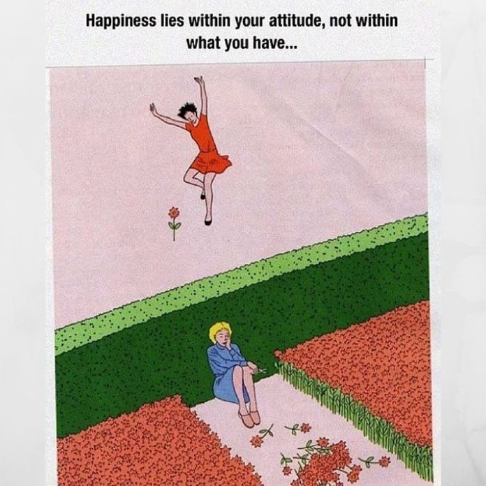 Our joy and happiness comes from within. Everything in the outer world is fleeti...