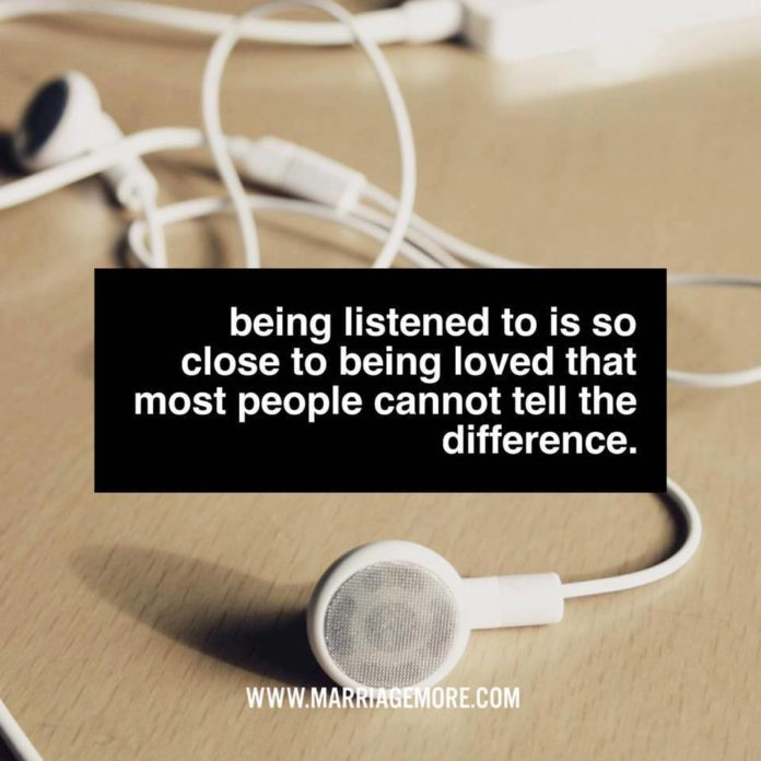 Listening to those we are with is a great gift- be all in the moment. xoxo Barb ...