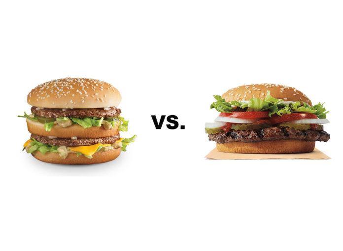 Big Mac vs. Whopper: Which One Is Better for You, According to an RD