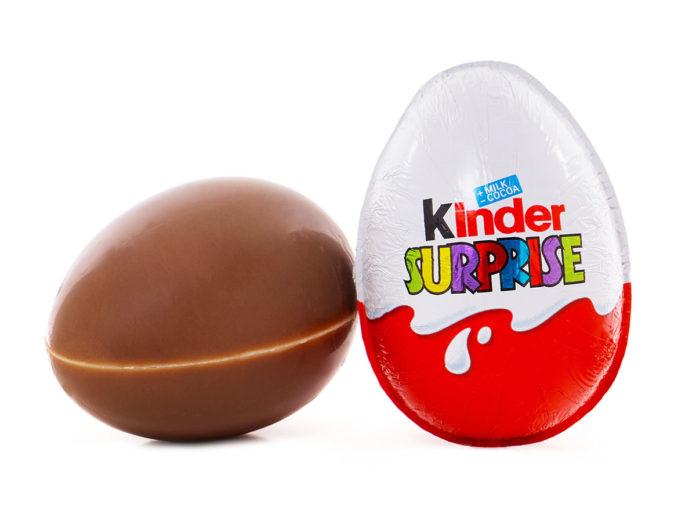 kinder eggs suprise candy