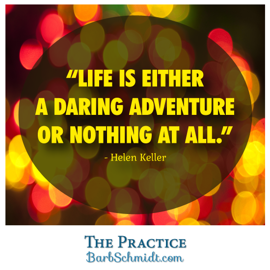 Imagine living life as if each moment was an adventure? Not really knowing what'...