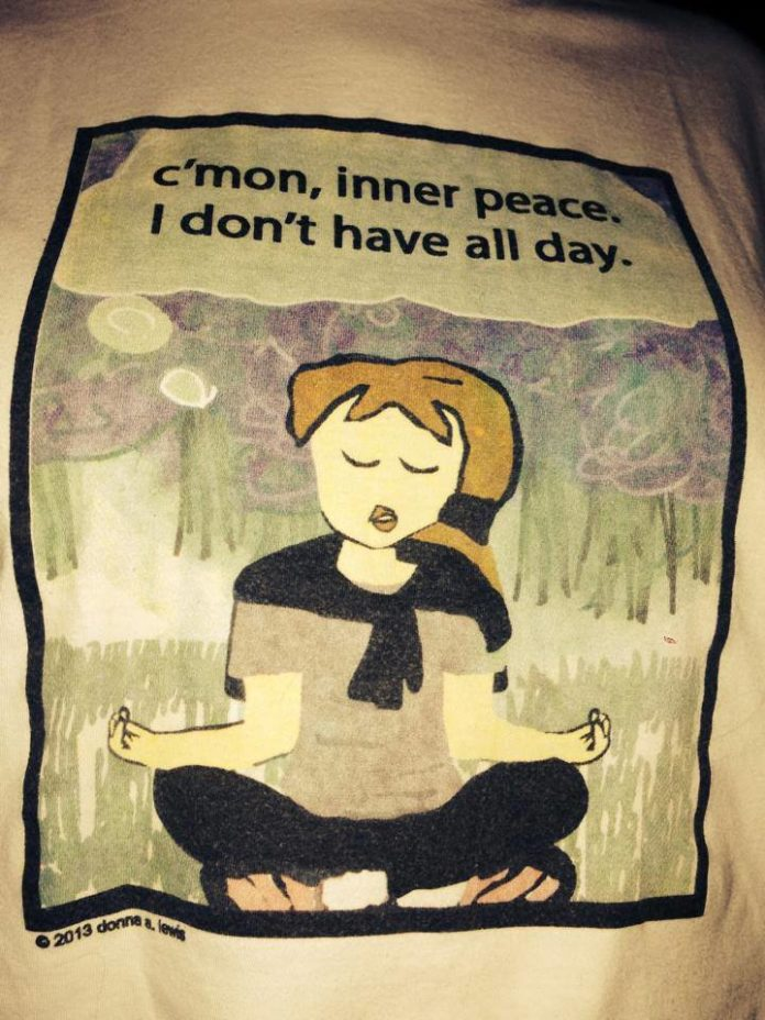 #ThePractice- Waking Up: Meditation  Inner Peace comes little by little every da...