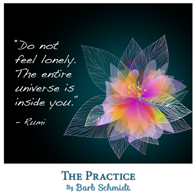 Have a daily practice of sitting in quiet, just being with yourself, knowing the...