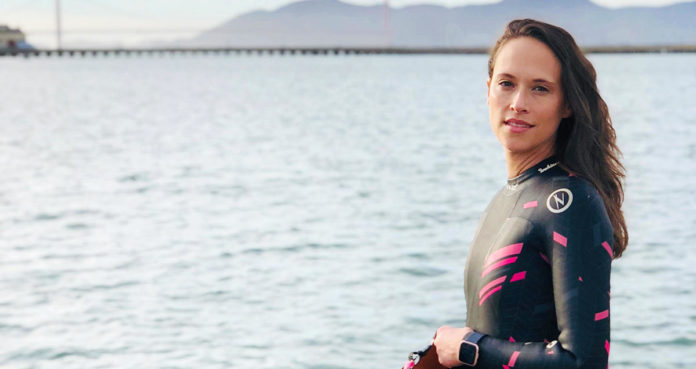 How This Woman Uses Swimming (Even In the Winter!) to De-stress