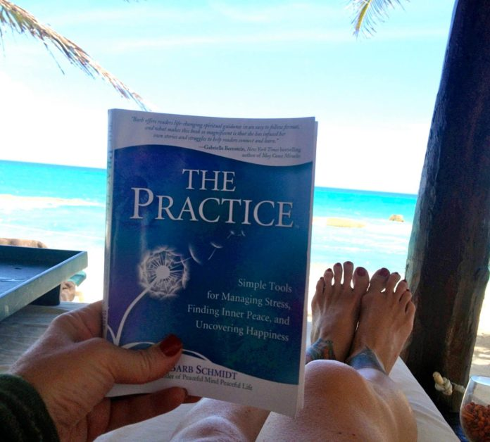 My friend sent me this photo- reading #ThePractice on her vacation in Mexico! S...