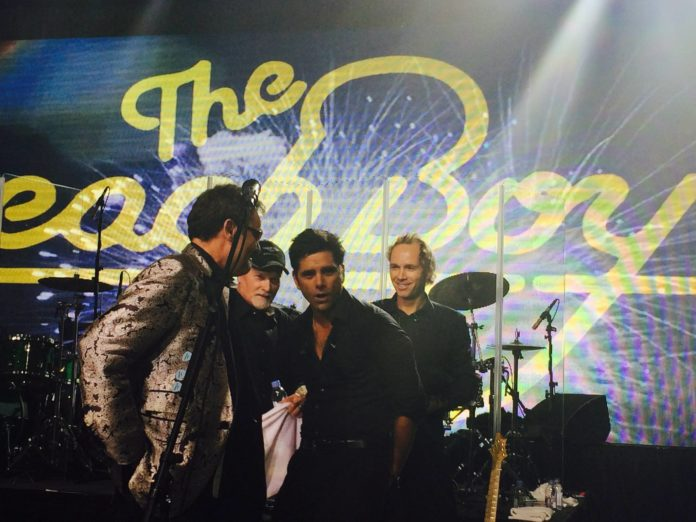 Much love to everyone tonight-  The Beach Boys and John Stamos perform to raise ...