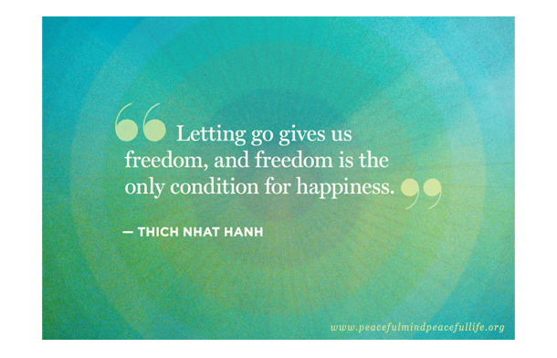 Did you let go of yesterday so you can start today fresh?   Today, present in th...