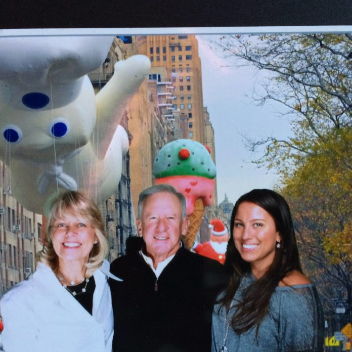At the Parade: Happy Thanksgiving!  Love to you from my family to yours <3  M...
