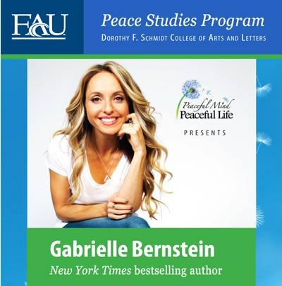 What will you be doing Thursday, November 14?  Meeting me at FAU for Gabby's May...
