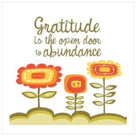 Pause for a moment today and think of one thing you are grateful for in your lif...