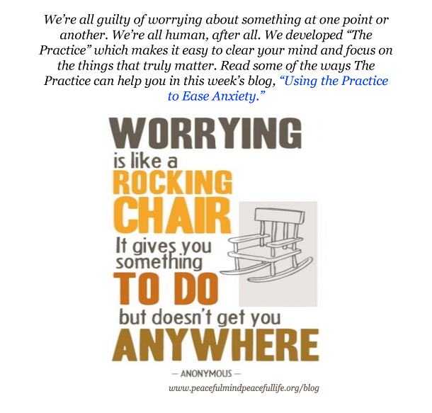 Yesterday I posted the rocking chair; such and great analogy- today I use it aga...