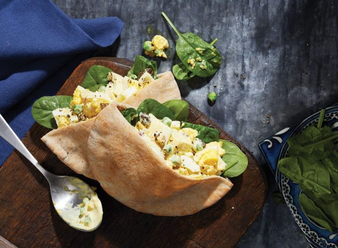 Quick and Easy Curried Egg Salad Recipe