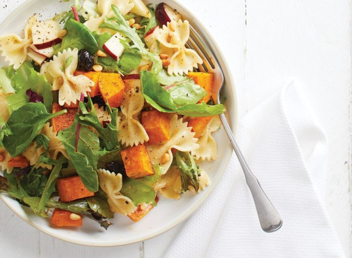 An Easy Butternut Squash Pasta Salad Recipe