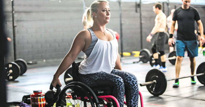 This Woman Lost Function In Her Leg--and Started Crushing CrossFit Workouts
