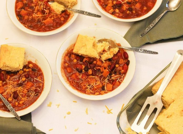 The Best-Ever Crock-Pot Vegetarian Chili Recipe